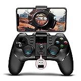 【ipega公式製品】 PG-9156 Bluetoothコントローラー PCゲーム コントロラー ios コントローラー PUBG Mobile/荒野行動 iPhone/iPad/Android/PC対応 連射機能【一年間保証/日本語説明書】