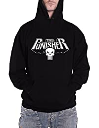 The Punisher Logo Hoodie (Black), Large