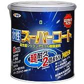 アサヒペン ペンキ 水性スーパーコート 水性多用途 緑 1.6L