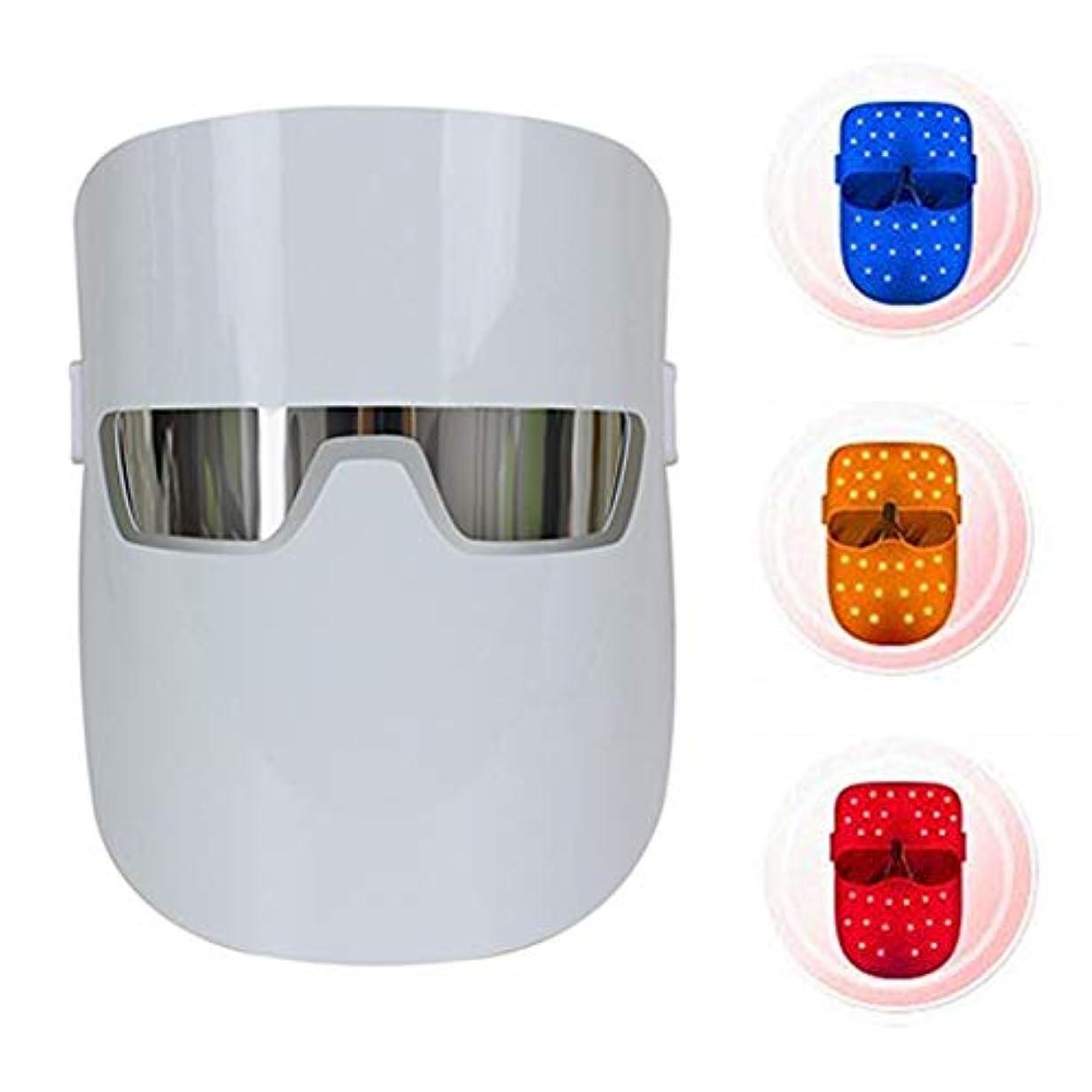 群れバーベキュー除外する美容ライトセラピーフェイスマスク分光器の肌の若返りセラピー明るくしわホワイトニングスキン,2