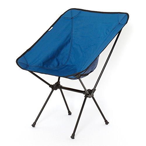cravate アウトドア チェア キャンプ 椅子 コンパクト 軽量 アルミチェア 耐久性に自信あり 折りたたみ ポータブル 登山 野外フェス 運動会 釣り 耐過重120kg 超軽量 940g アウトドアチェア 02ブルー