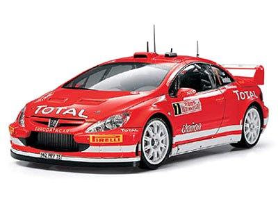 1/24 スポーツカー No.285 1/24 プジョー 307 WRC モンテカルロ '05 24285