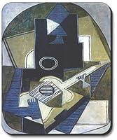 ピカソ: L 'homme A LAギターマウスパッド–byアートプレート