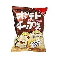 創健社 ポテトチップス バターしょうゆ味 60g ×10袋 セット (自然食品 スナック菓子 ポテト チップ)