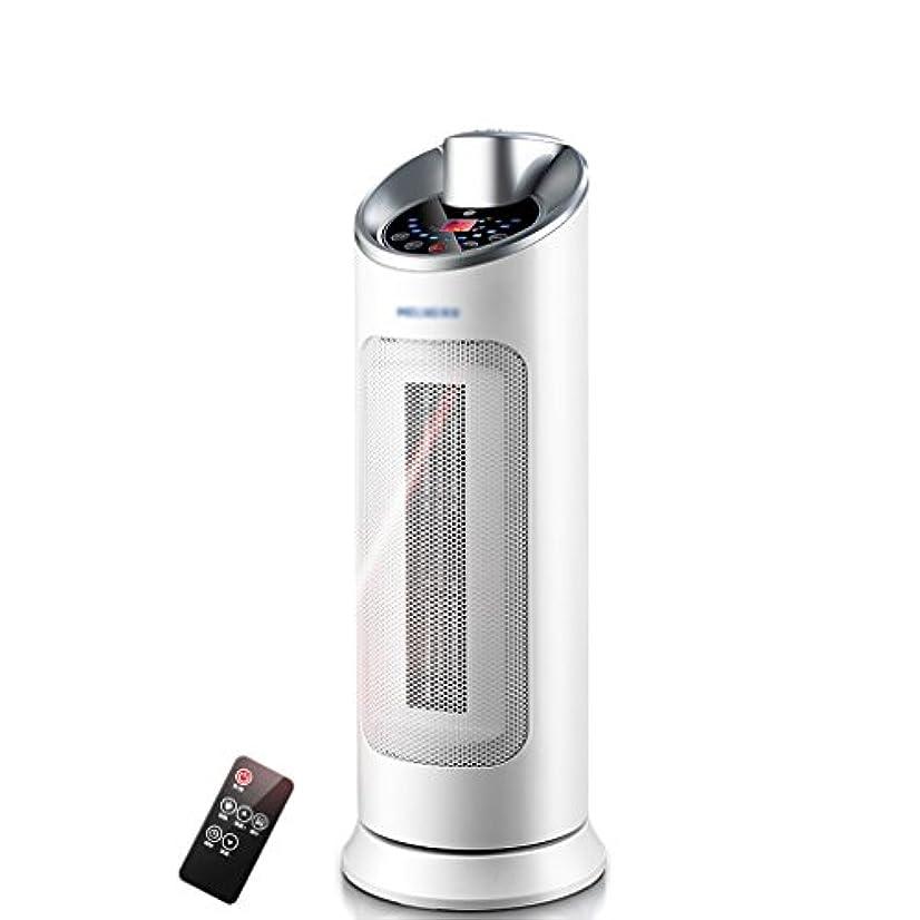 究極の勤勉な男らしいXing zhe ヒーター - 2000W小型ベンチヒーター、省エネ調節可能なポータブル、リモートヒーター加熱PTCタワーヒーター(サイズ58X21CM) 家庭用器具 (Color : A)