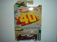 2012 Hot Wheels 40s Cars of the Decades Tail Dragger Dark Purple/Cream #5/32