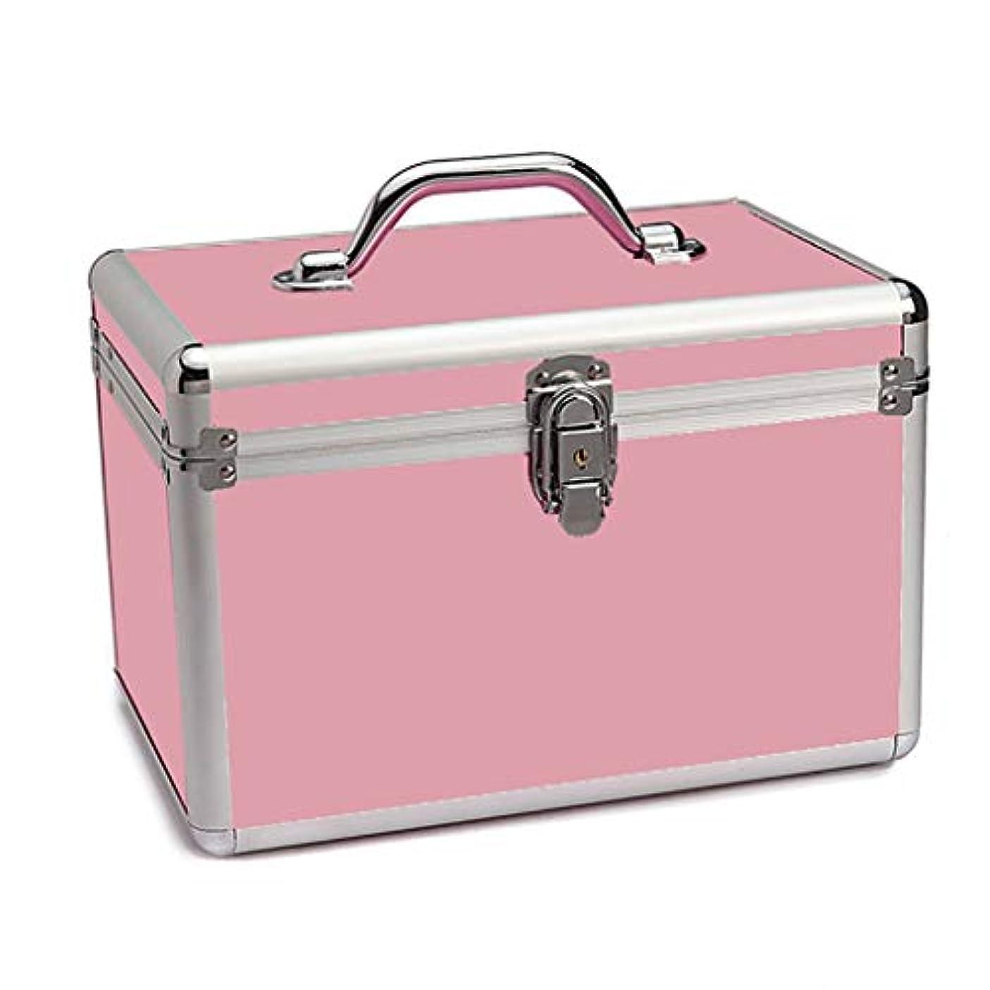 永遠の欠如中世のメイクボックス ミラー付き メイクポーチ トラベルポーチ コスメ収納ポッチ 洗面用具入れ 収納バッグ おしゃれ 小物整理 超軽量 出張用 旅行用 化粧ケース 携帯易い 取っ手付き