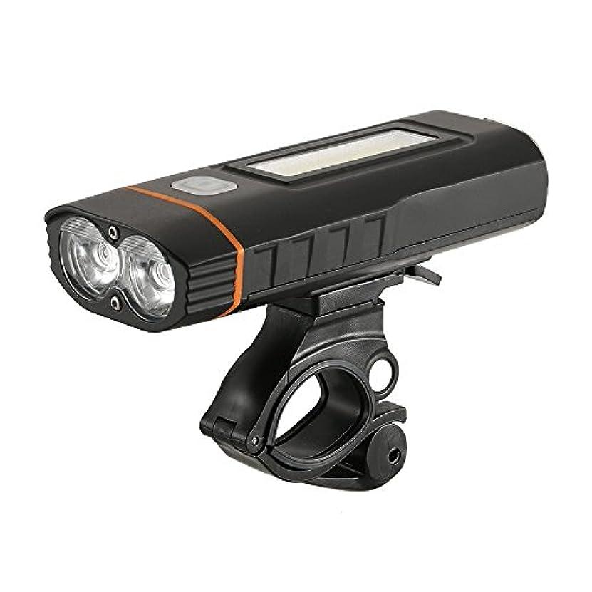 正当化する虚偽メイトバイクライトスーパーブライトバイクヘッドライト自転車サイクリングライトランプ安全懐中電灯充電式自転車フロントライト