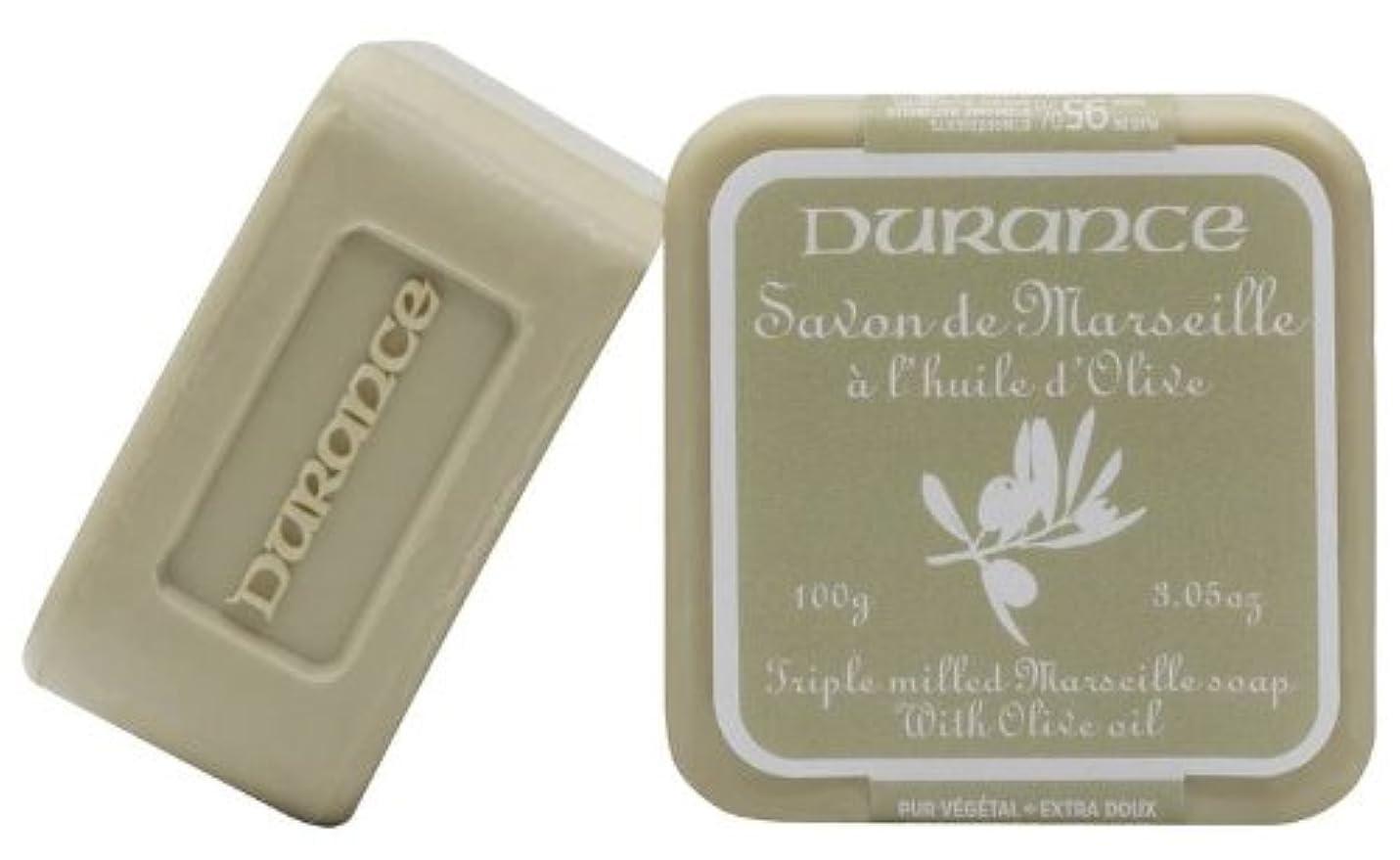 略奪ごちそう歌手DURANCE(デュランス) マルセイユソープ 100g 「オリーブ」 3287570405160