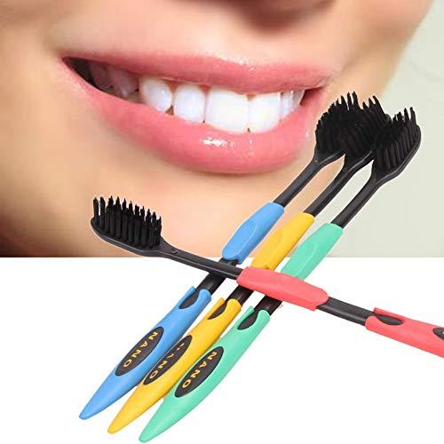 Yutner 口腔衛生歯科黒や黄色のヘッドのクリーニング4P...
