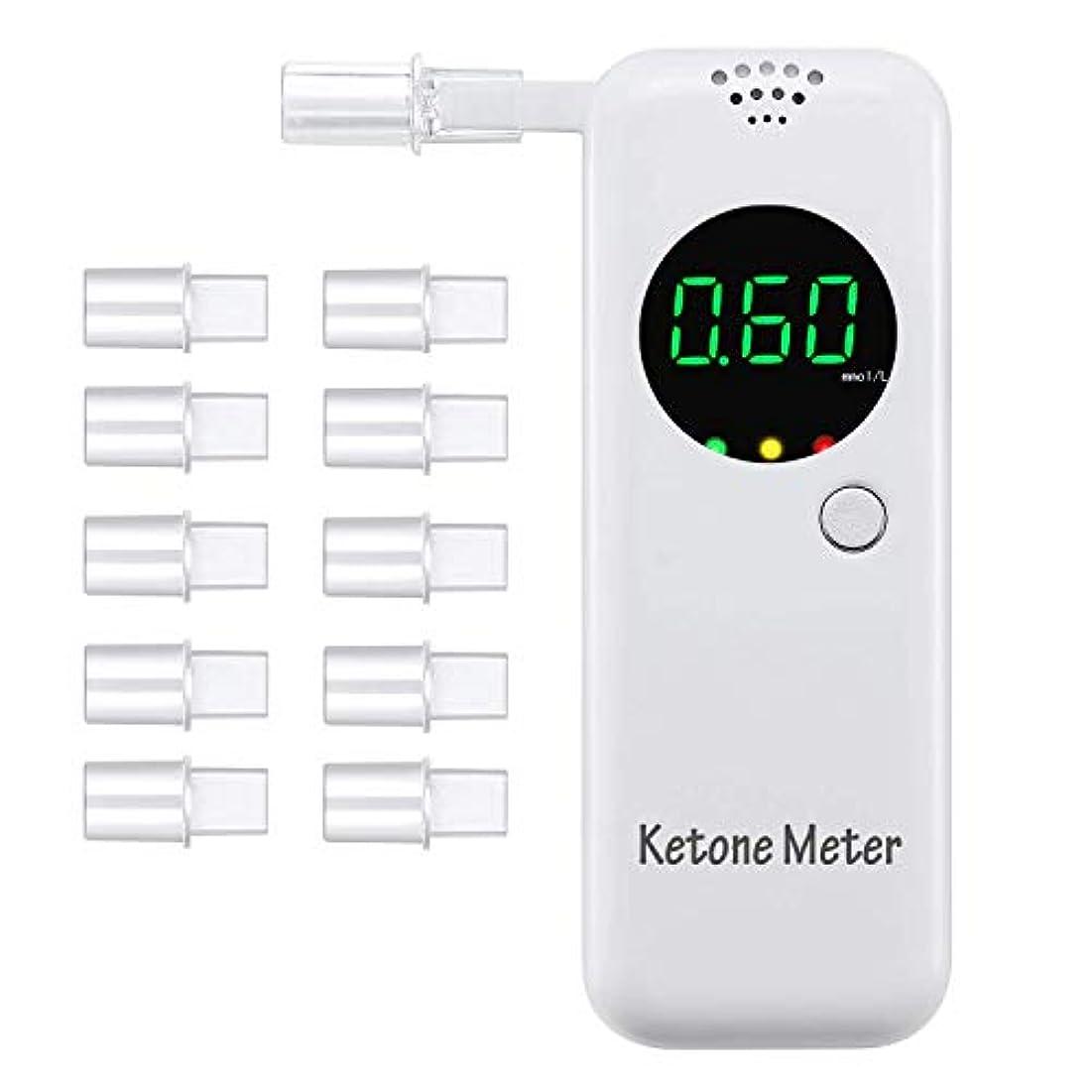 シエスタ高度おもてなしブレスチェッカー Ketosis 検知器 測定器 呼気 息吹き式 呼吸式 ケトンテスター ケトンテスター keto検査 ケトンセンサー 5個マウスピース