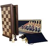 【本格木製チェス】トーナメント プロチェスセットA