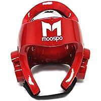 韓国TKDテコンドーmoospo仕様ヘルメットヘッドプロテクターヘッドギアヘッドガードジム学校レッドブルーホワイト