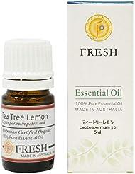FRESH オーガニック エッセンシャルオイル ティートリーレモン 5ml (FRESH 精油)