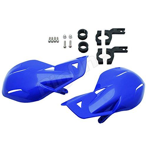 Big-One(ビッグワン) ナックルガード バイク用 ナックルバイザー ブルー 汎用 ユニコType 防寒 風防 29393
