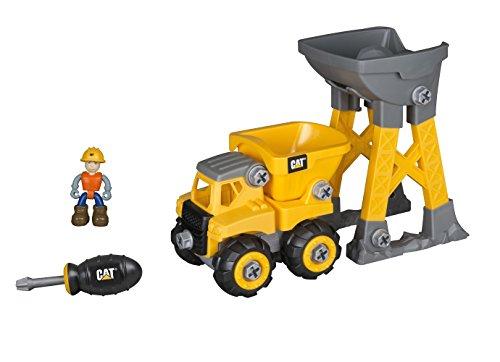 CAT(R) マシーンメーカー 組み立て入門セット ダンプトラック&タワー C80911 NIKKO KYOSHO EGG