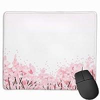 マウスパッド 海パン 和風柄 桜 滑り止めゲーミングマウスパッド レーザー&光学マウス対応 25 X 30 X 0.3 Cm