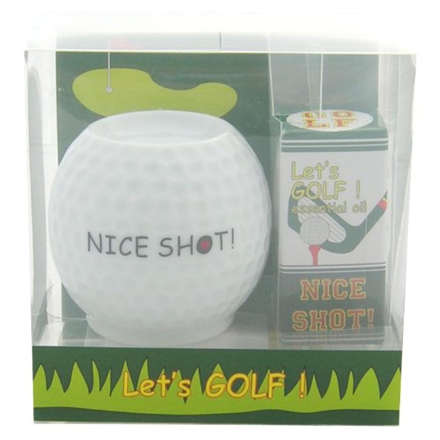 王室期待して精神的にフリート レッツ ゴルフ! アロマライトセット ナイスショット! 4ml