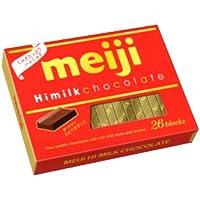 明治 ハイミルクチョコレートBOX 120g(26枚) 48コ入り