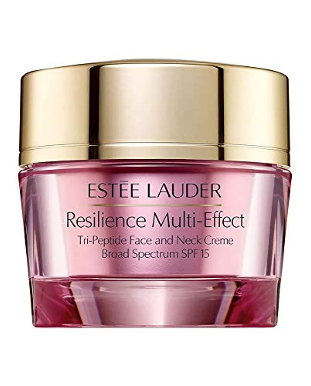 遠い創傷コメントエスティローダー Resilience Multi-Effect Tri-Peptide Face and Neck Creme SPF 15 - For Dry Skin 50ml/1.7oz並行輸入品