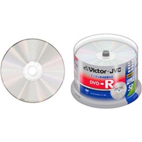 JVCケンウッド(ビクター) 録画用DVD-R 120分 16倍速 CPRM対応 シルバーレーベル 50枚スピンドルケース VD-R120EQ50