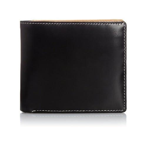 (フランコ コレツィオーニ)Franco Collezioni 牛革二つ折り財布 68093 黒