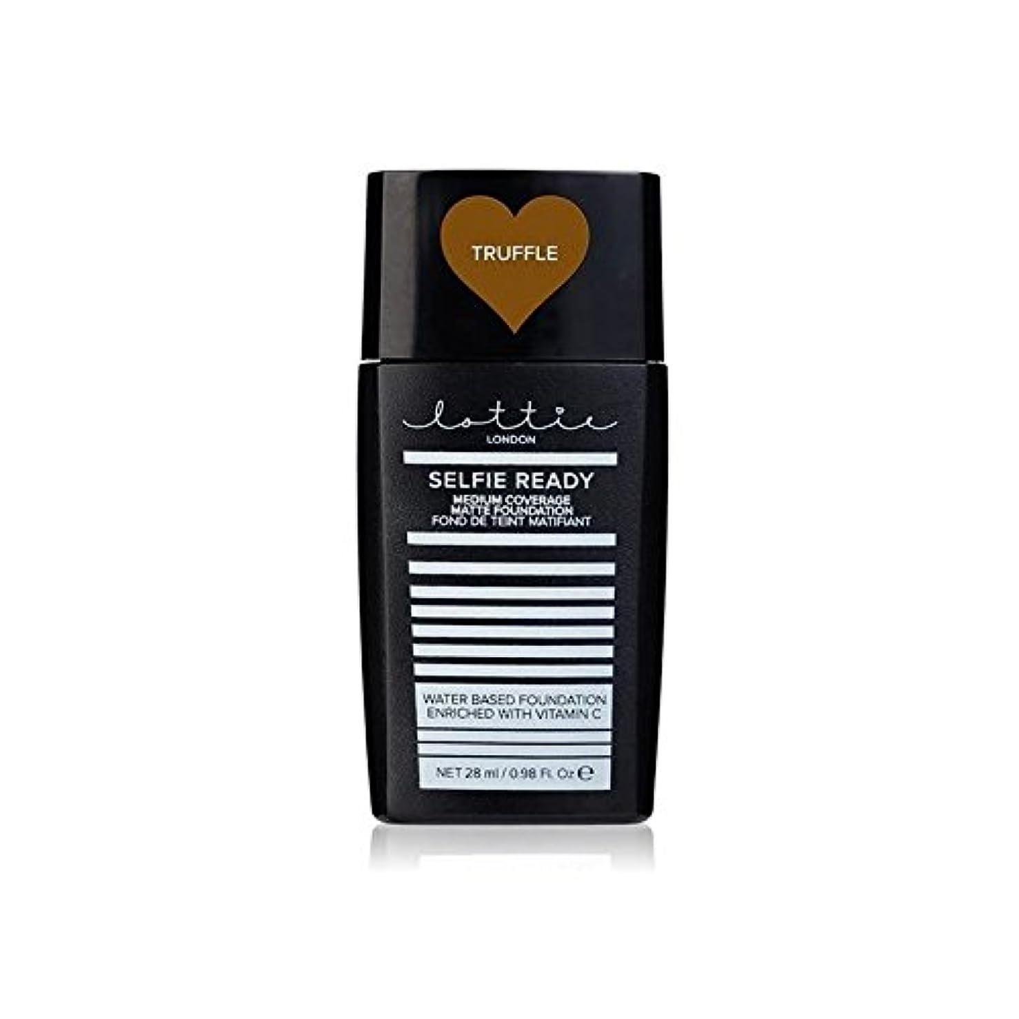 高揚した医学署名ロンドン自分撮り準備 - メディア報道マット基礎トリュフ x2 - Lottie London Selfie Ready - Medium Coverage Matte Foundation Truffle (Pack...