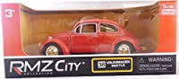 Pull Back And Go Die Cast Volkswagen Beetle - Red