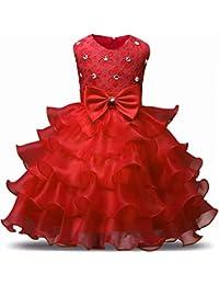 ZOEREA(ゾエレア) 子供ドレス 女の子 キッズ ワンピース ガールズフォーマル 発表会 パーディー 演奏会 フォーマル 入園式 結婚式 フラワーガール レース