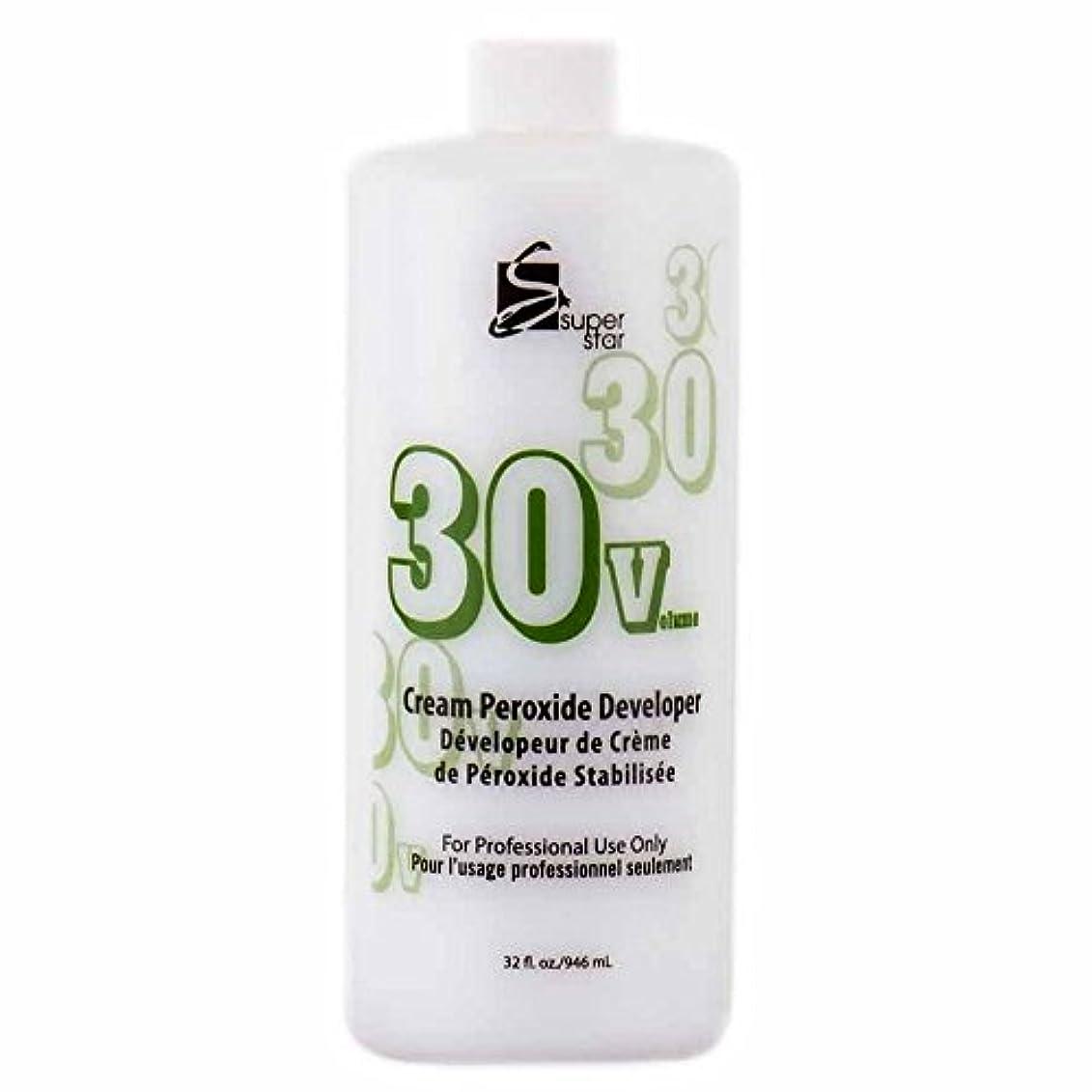 予約小康例外SUPER STAR Stabilized Cream Peroxide Developer 30V HC-50303 by Superstar