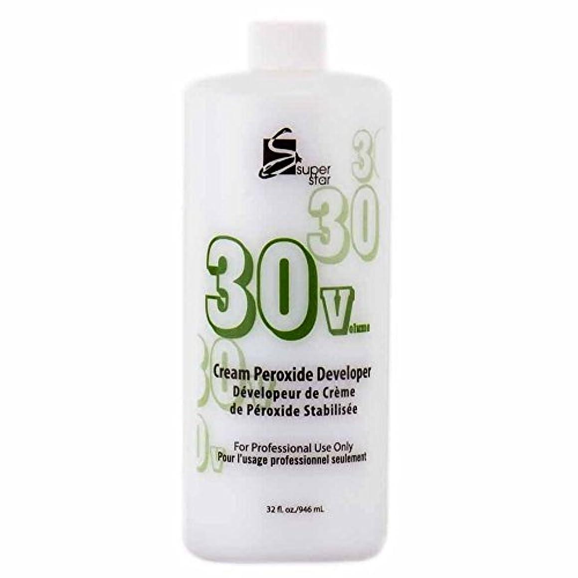 利得現実にはナラーバーSUPER STAR Stabilized Cream Peroxide Developer 30V HC-50303 by Superstar