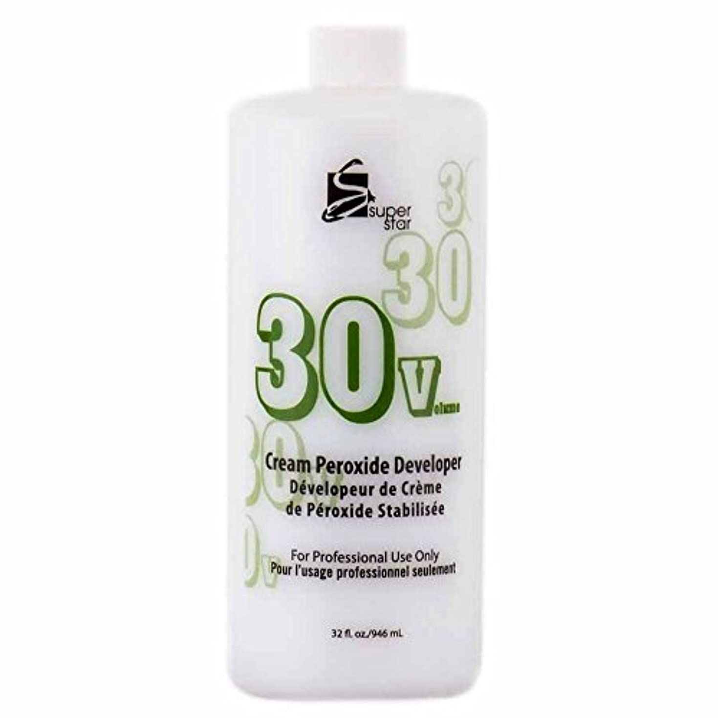潜む食器棚フラグラントSUPER STAR Stabilized Cream Peroxide Developer 30V HC-50303 by Superstar