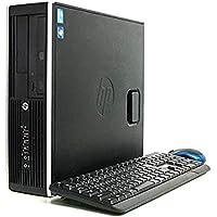 【NVIDIA GeForce GTX1050Ti / Core i5 搭載】ゲーミング デスクトップパソコン Compaq 6200 Pro SF / Corei5 2400 3.1GHz / メモリ8GB / HDD500GB(250GB×2) / Windows10 Home 64bit / DVD-ROM/無線LAN子機/WPS Office/キーボード・マウス付属