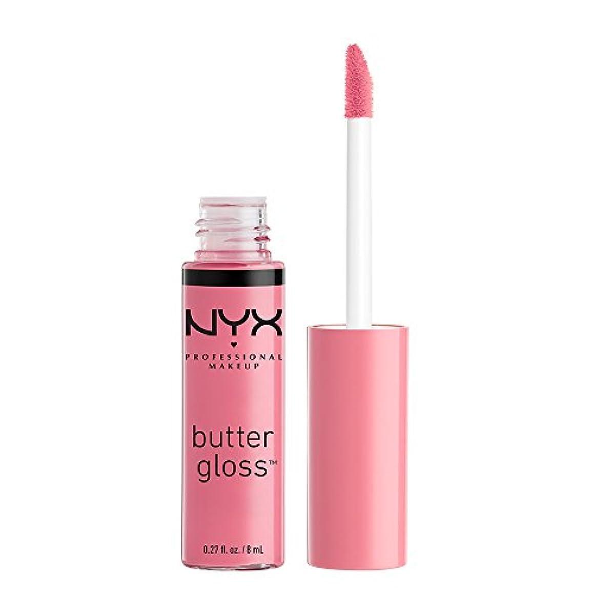 NYX(ニックス) バター グロス 09 カラー?バニラ クリームパイ リップ