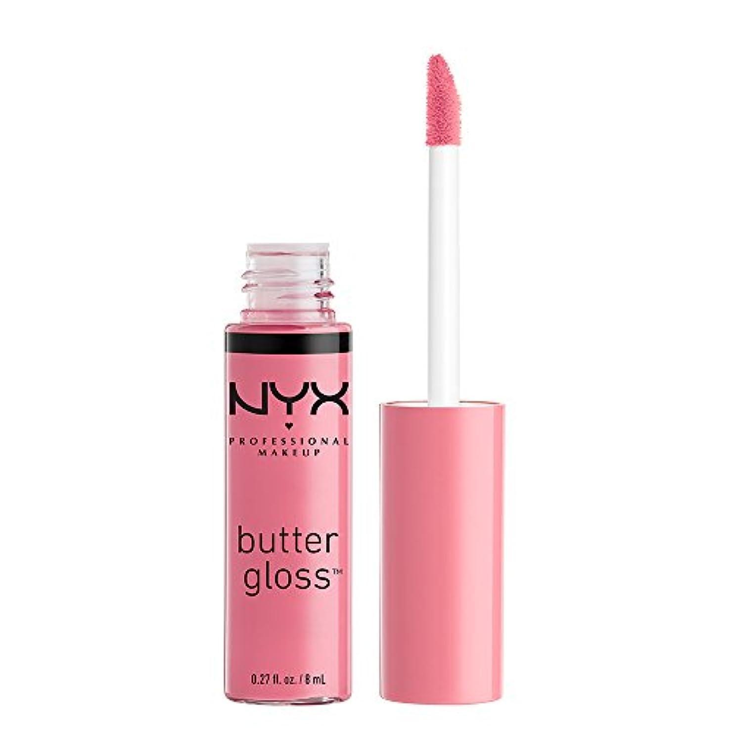 矛盾定期的粒NYX(ニックス) バター グロス 09 カラー?バニラ クリームパイ リップ