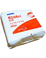 日本製紙クレシア ワイプオール X70 不織布ワイパー レギュラー 335×343mm 四つ折り (50枚入り) 60370