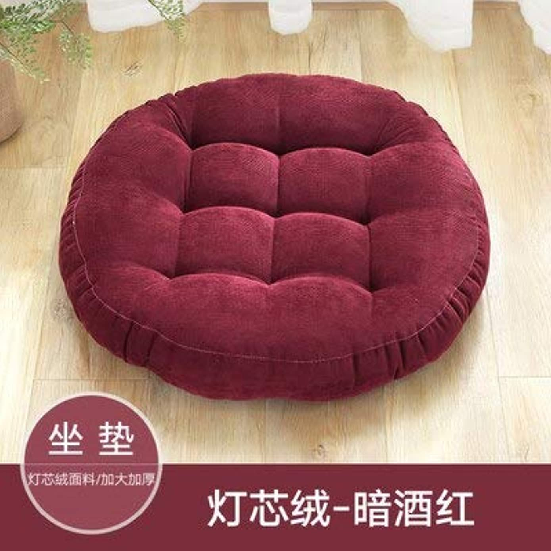 ペナルティ余裕がある明らかLIFE ラウンド厚い椅子のクッションフロアマットレスシートパッドソフトホームオフィスチェアクッションマットソフトスロー枕最高品質の床クッション クッション 椅子