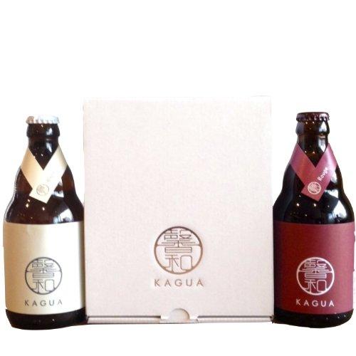 ギフトBOX入り「馨和 KAGUA」Blanc & Rouge 2本セット 330ml × 2本