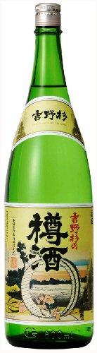 長龍酒造 吉野杉の樽酒 瓶 1800ml [奈良県]
