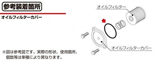 キタコ(KITACO) Oリング(OK-07) カワサキ系 ZZ-R250/ゼファー400/GPZ900R等 1個入り 70-967-34070