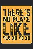There's no Place like G28 X0 Y0 Z0: Notizbuch, Skizzenbuch, Planer oder Konstruktionsbuch in 6x9 Zoll (ca A5) | perfekt fuer alle G-Code-Fans, 3D-Modell Designer, 3D-Druck-Fans und fuer CNC-Dreher. Zum planen von Projekten und zum festhalten von Ideen!