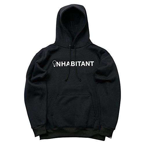 (インハビタント)INHABITANT IDEA PARKA IH432KT10 BK ブラック XXS