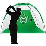 Enhong ゴルフネット 据置タイプ 収納バッグ付き 練習用