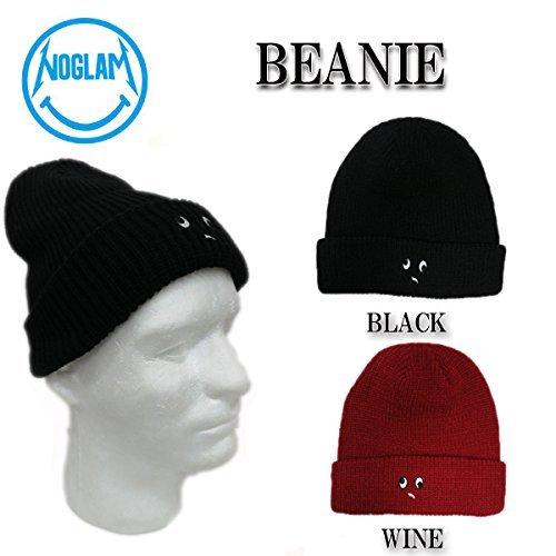 14-15 NOGLAM ノーグラム BEANIE 帽子 スノーボード ビーニー (WINE)