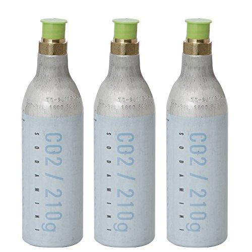 SODA MINI(ソーダミニ) ガスボンベ交換・回収キット...