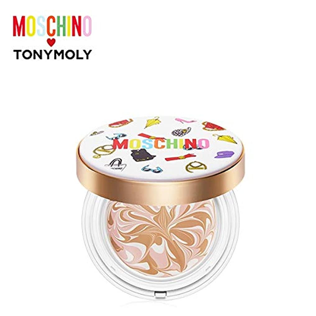 予知必要ないがっかりしたトニーモリー [モスキーノ] シック スキン エッセンス パクト 18g TONYMOLY [MOSCHINO] Chic Skin Essence Pact #01 CHIC VANILLA [並行輸入品]