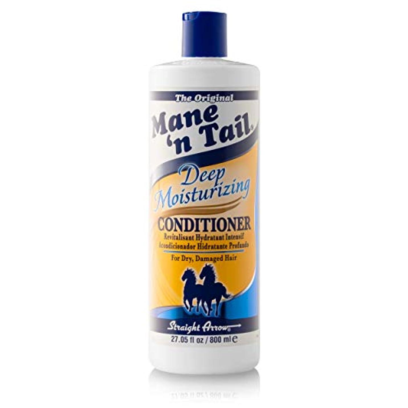 繊毛調和脈拍Mane 'n Tail 乾燥してダメージヘア27.05オンスを復元するために、ディープモイスチャライジングコンディショナー