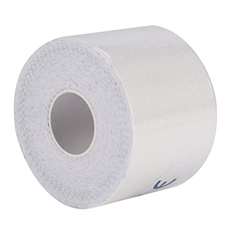 スリルマーケティング天のマッスルテープ、マッスルテープロール弾性接着剤スポーツ痛みケア健康綿包帯傷害サポート(5cm*5m)