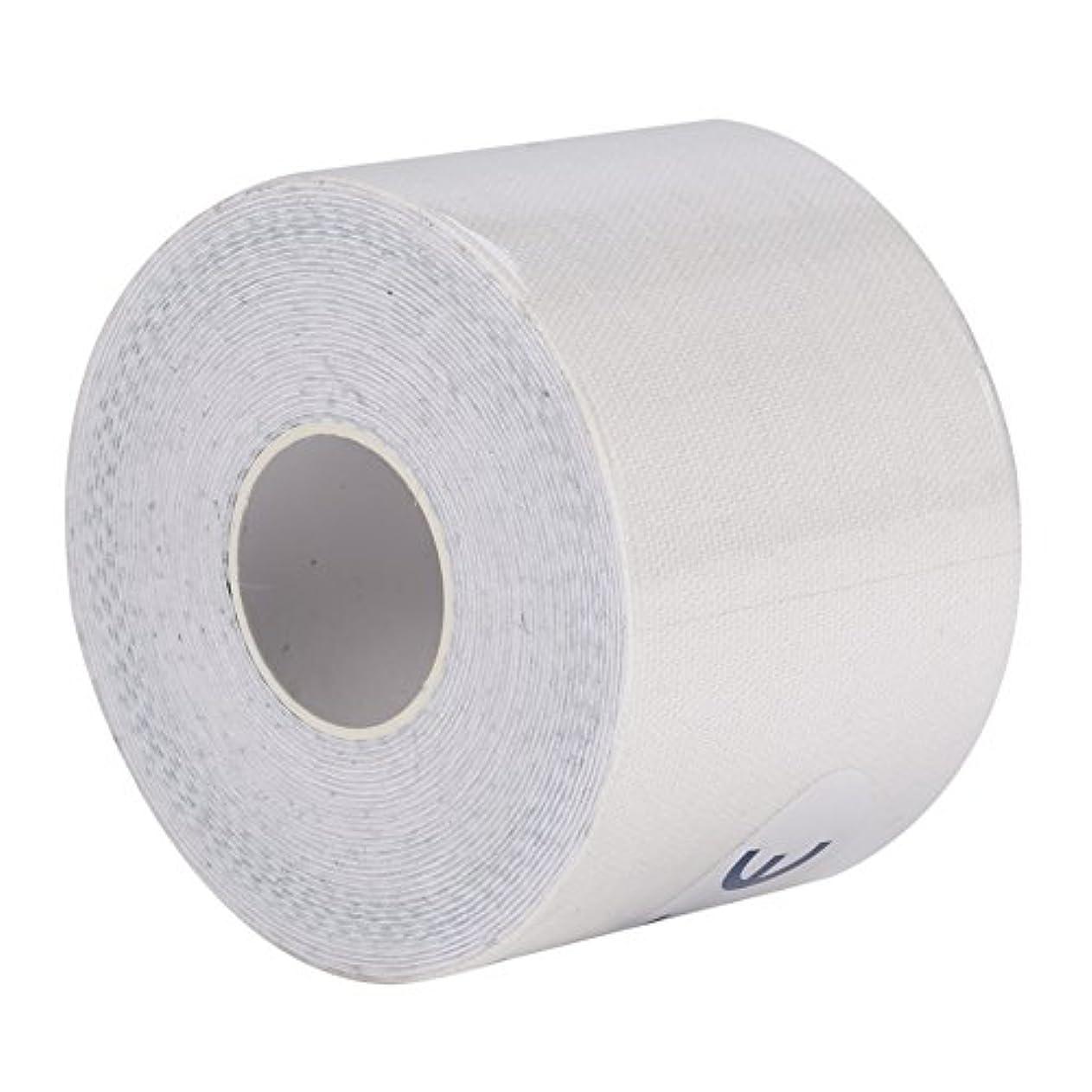 アレルギー性上に築きますレジデンスマッスルテープ、マッスルテープロール弾性接着剤スポーツ痛みケア健康綿包帯傷害サポート(5cm*5m)