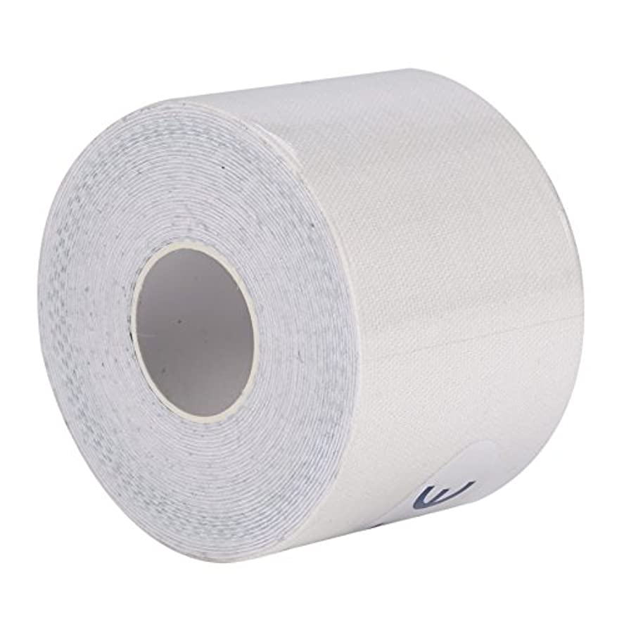 識字実証するベットマッスルテープ、マッスルテープロール弾性接着剤スポーツ痛みケア健康綿包帯傷害サポート(5cm*5m)